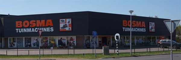 Bosma Tuinmachines kiest voor dgeDetailhandel